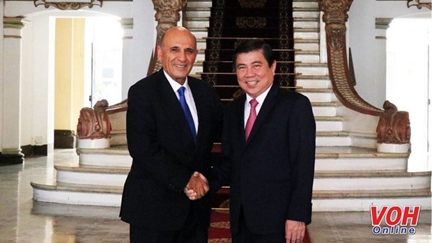 HCM City leader receives former Israeli Deputy PM hinh anh 1