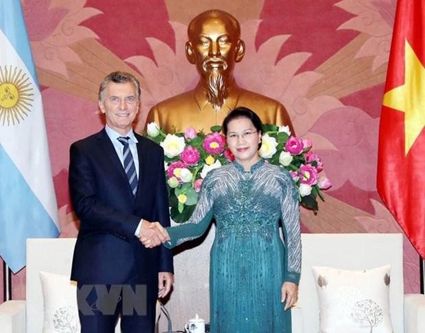 Vietnam wants to bolster strategic partnership with Argentina: top legislator hinh anh 1
