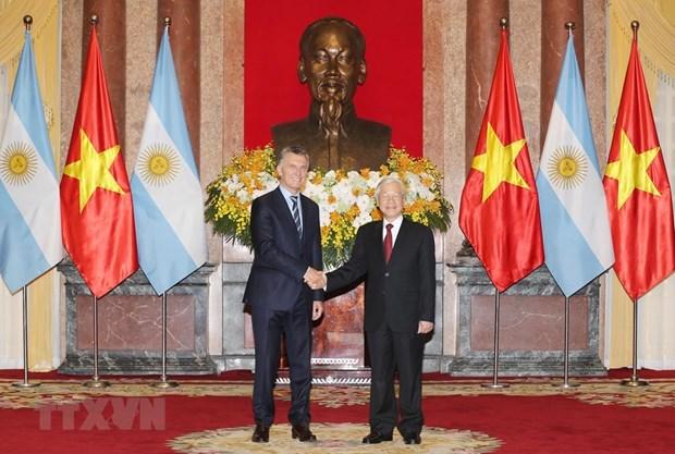 Vietnam, Argentina to work towards strategic partnership hinh anh 1