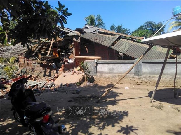Strong quake shakes eastern Indonesia hinh anh 1