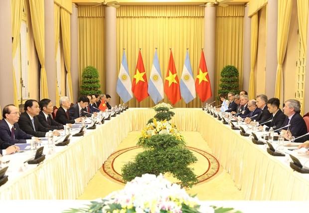 Vietnam, Argentina to work towards strategic partnership hinh anh 2