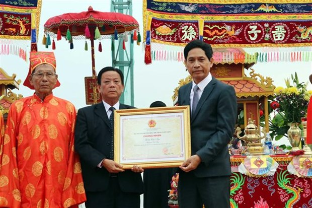Whale worship festival in Da Nang recognised as intangible heritage hinh anh 1