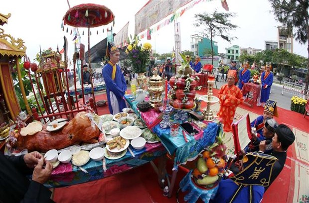 Whale worship festival in Da Nang recognised as intangible heritage hinh anh 3