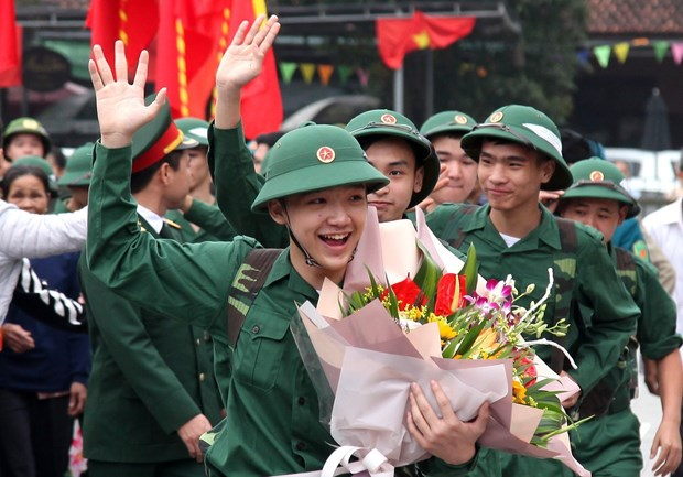 Young people nationwide join army hinh anh 1