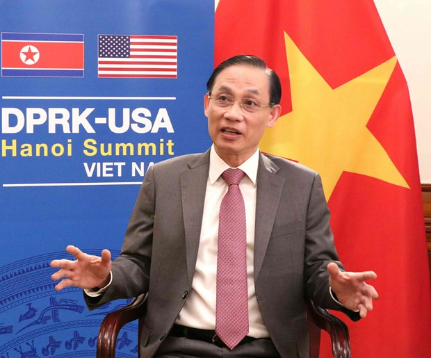 Preparations for US-DPRK Summit on schedule: Deputy FM hinh anh 1