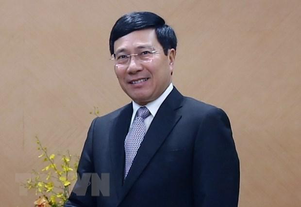 Deputy PM: Vietnam treasures strategic partnership with Germany hinh anh 1