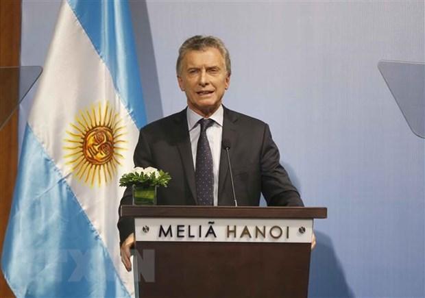 Vietnam – important partner of Argentina: President Macri hinh anh 1
