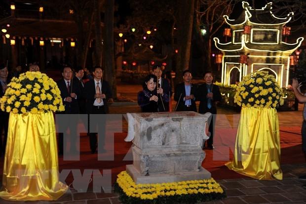 Con Son-Kiep Bac Spring Festival opens in Hai Duong hinh anh 1