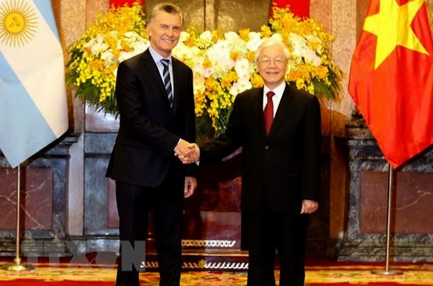 Vietnam, Argentina issue joint statement hinh anh 1