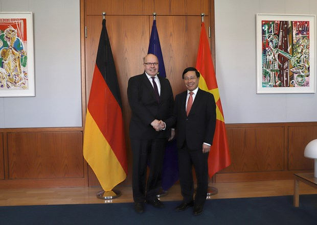 Deputy PM's Germany visit – success beyond expectations: diplomat hinh anh 1