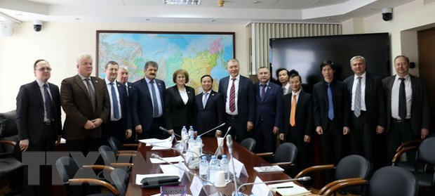 Russian parliamentarians highlight thriving Vietnam-Russia ties hinh anh 1