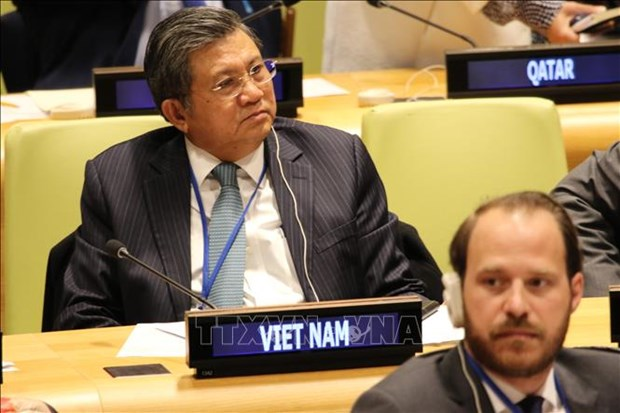 Vietnam attends IPU-UN parliamentary hearing hinh anh 1