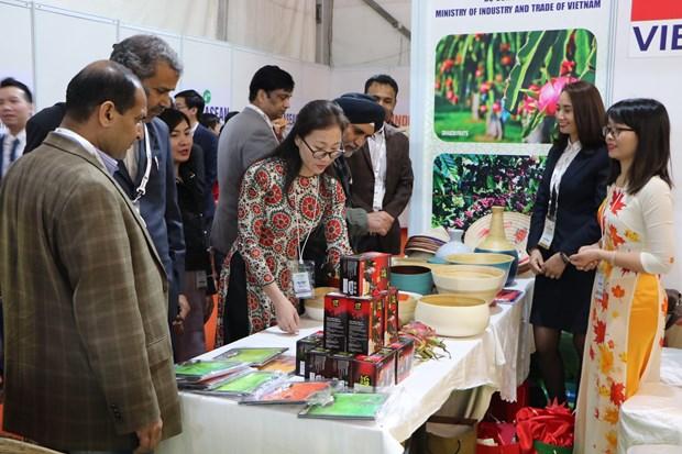 Vietnam participates in ASEAN-India expo hinh anh 1