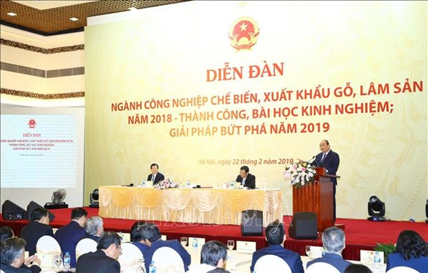 Wood, forestry exports must surpass 11 billion USD in 2019: PM hinh anh 1