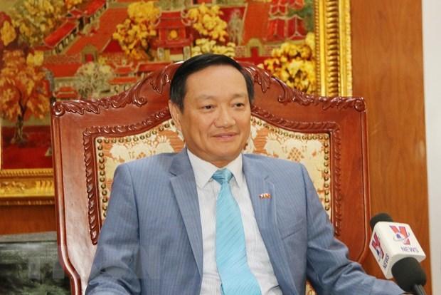 Ambassador highlights significance of Laos visit by Nguyen Phu Trong hinh anh 1