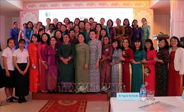 Vietnamese, Cambodian women promote solidarity, cooperation hinh anh 1
