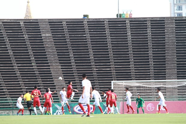 AFF U22 Championship: Vietnam lose 0-1 to Indonesia in semi-finals hinh anh 1
