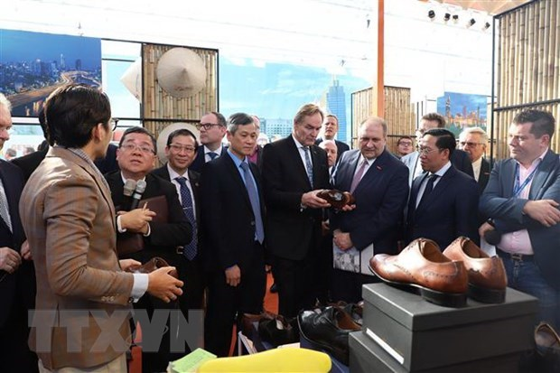Leipzig trade fair helps promote Vietnam-Germany cooperation: German officials hinh anh 1