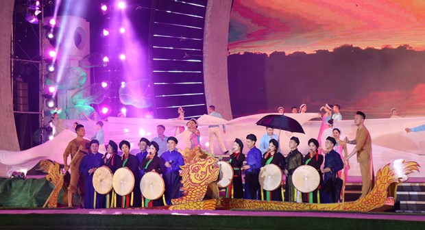 10th anniversary of UNESCO recognition of Quan ho singing marked hinh anh 1