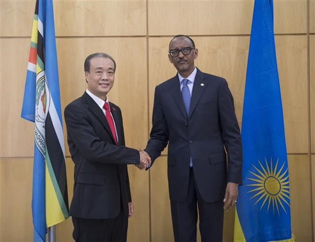 Vietnamese Ambassador presents credentials to Rwandan President hinh anh 1
