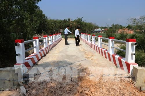Ten rural bridges put into use in Tay Ninh province hinh anh 1