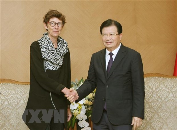 Deputy PM hopes for closer ties with Norway hinh anh 1