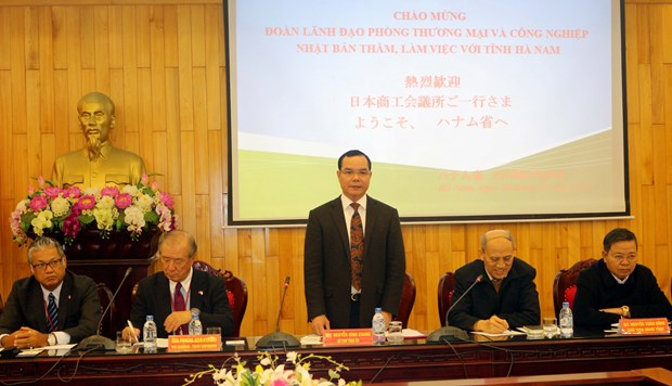 Japanese businesses study investment in Ha Nam province hinh anh 1