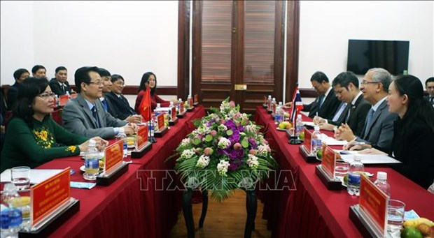 HCM City, Thai courts share experience in combating drug crime hinh anh 1