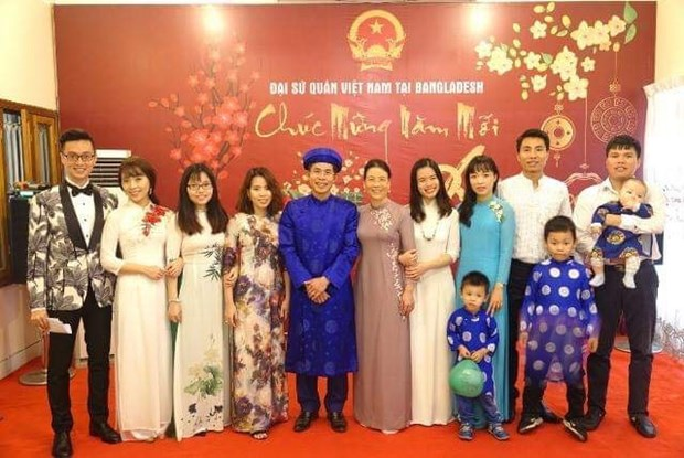 Vietnamese expats in Bangladesh join post-Tet gathering hinh anh 1