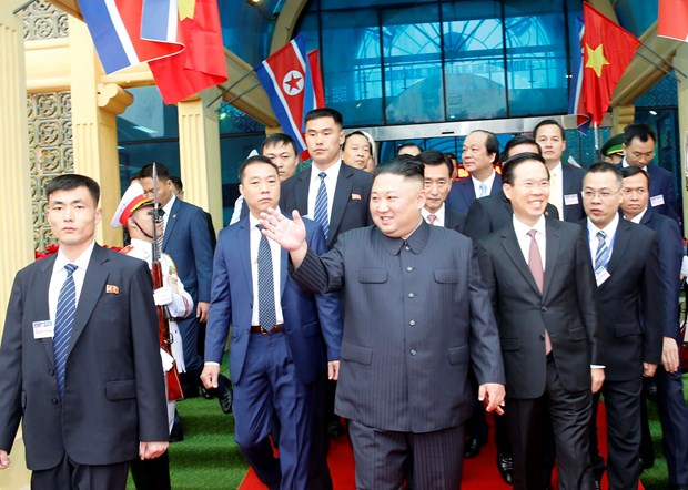 DPRK Chairman's visit to Vietnam spotlighted hinh anh 1