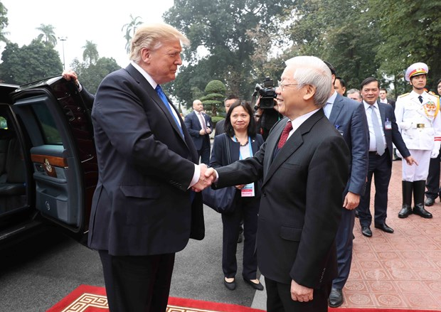 US to promote comprehensive partnership with Vietnam: President Trump hinh anh 1