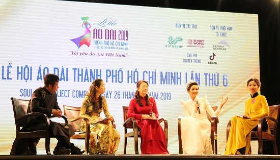 Sixth ao dai festival to promote traditional culture, tourism hinh anh 1