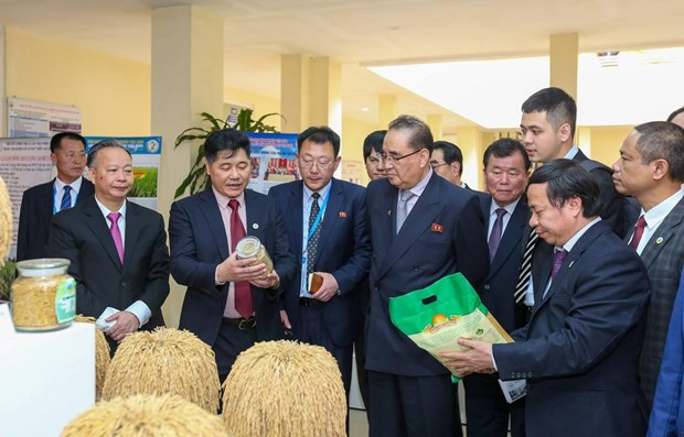 DPRK Party delegation visits Vietnam Agriculture Science Institute hinh anh 1