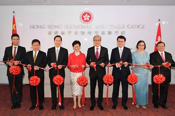 Hong Kong opens economic and trade office in Thailand hinh anh 1
