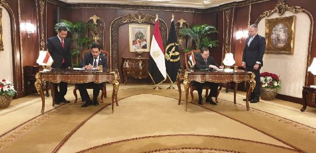 Indonesia, Egypt forge cooperation to eradicate terrorism hinh anh 1