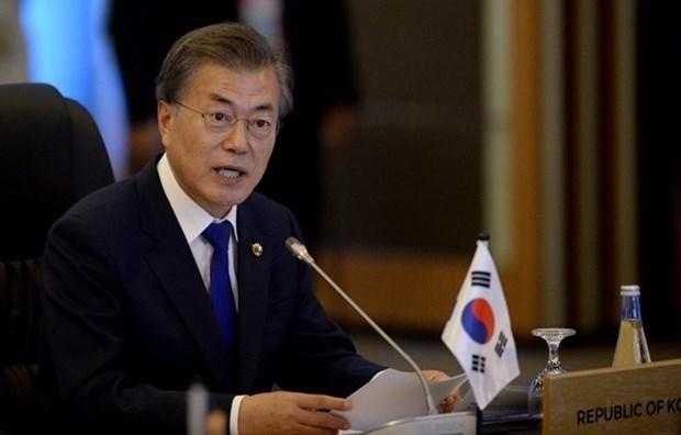 RoK President to detail proposal for future of Korean Peninsula hinh anh 1