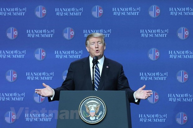US President convenes press conference hinh anh 1