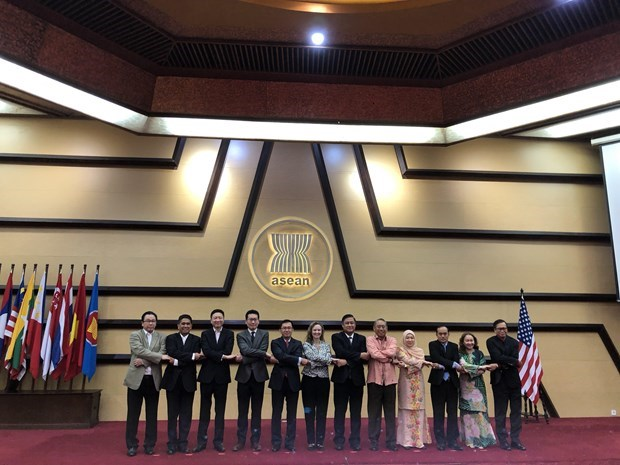 ASEAN-US Joint Cooperation Committee convenes 10th meeting hinh anh 1