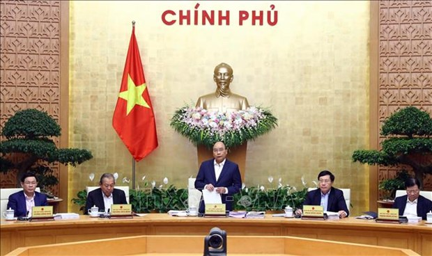 PM asks for greater efforts to promote sustainable growth hinh anh 1