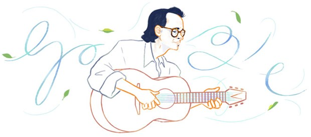 Late talented composer commemorated on Google hinh anh 1