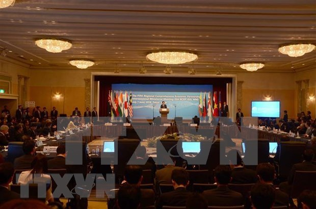 RCEP ministerial meeting opens in Cambodia hinh anh 1