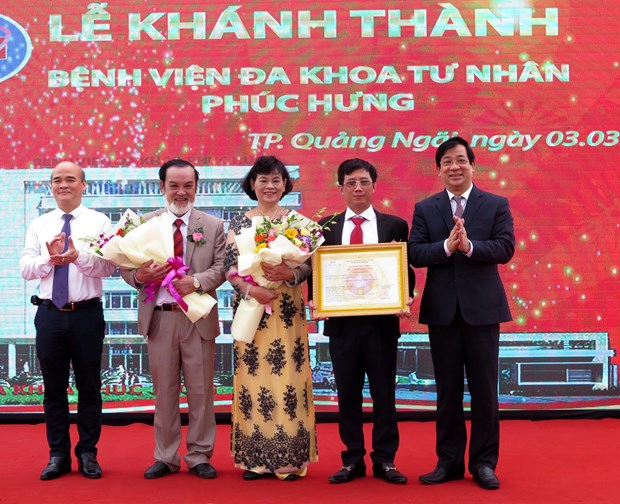 First private general hospital in Quang Ngai inaugurated hinh anh 1