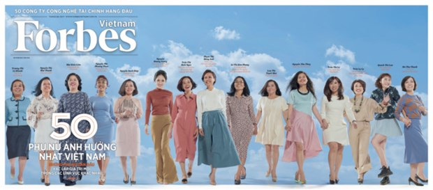 Forbes Vietnam's list of 50 most influential women revealed hinh anh 1