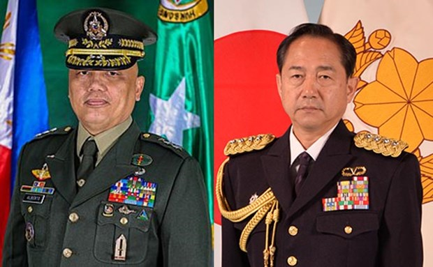 Japan, Philippines discuss defence cooperation, regional security hinh anh 1
