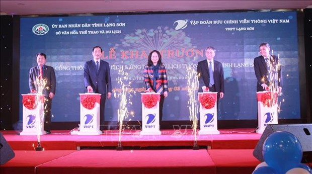 Lang Son tourism portal, application launched hinh anh 1
