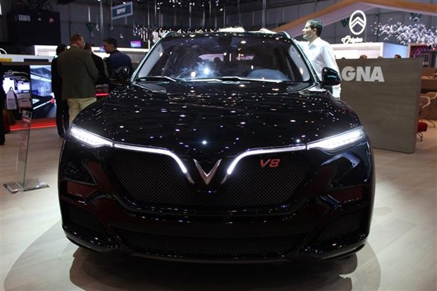 Automaker introduces special car model at Geneva exhibition hinh anh 1