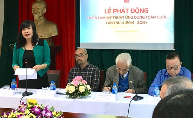 Applied fine arts to be showcased in September hinh anh 1