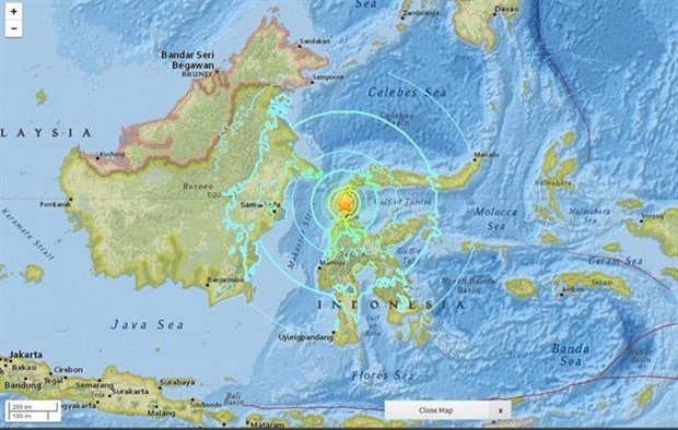 Indonesia: 5.0 magnitude quake jolts South Sulawesi hinh anh 1