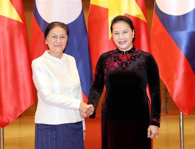 Lao top legislator hails Vietnam's organisation of DPRK-USA summit hinh anh 1