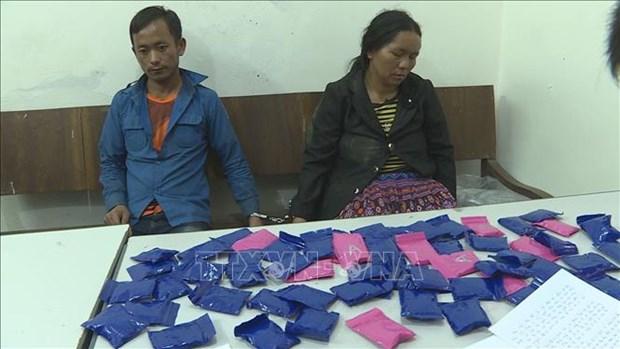 Son La: Lao nationals arrested for drug trafficking hinh anh 1